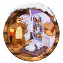Jucarie Simba Masha and the Bear Winter Bear's House