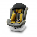 Lionelo - Scaun auto Bastiaan One Pozitie de somn, Protectie laterala, Rotire 360 grade, Top Tether, 0-36 Kg, cu Isofix, Galben