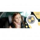 Lionelo - Scaun auto Bastiaan RWF cu protectie laterala, rotativ 360 grade, cu Isofix, 0-36 kg, Carbon