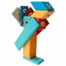 Set magnetic din lemn - 14 piese