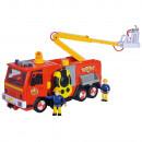 Masina de pompieri Simba Fireman Sam Ultimate Jupiter cu 2 figurine si accesorii