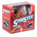 Masinuta Zoom Spinster cu telecomanda (Rosie)