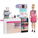 Set Barbie by Mattel Cooking and Baking Cafenea cu papusa si accesorii