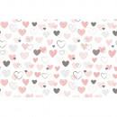 Lenjerie patut Hubners Hearts 4 piese multicolor