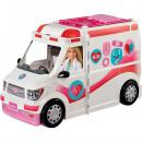 Masina ambulanta Barbie by Mattel I can be Clinica mobila 2 in 1