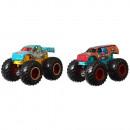 Set Hot Wheels by Mattel Monster Trucks Raijyu vs Kovmorj