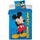 Set lenjerie pat copii Mickey Mouse 100x135 + 40x60 SunCity FRA576470