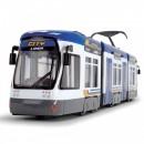 Tramvai Dickie Toys City Liner albastru