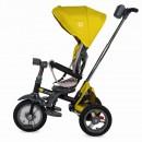 Tricicleta multifunctionala 4in1 cu sezut reversibil Coccolle Velo Air Mustar
