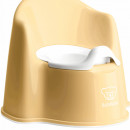 BabyBjorn - Olita cu protectie spate Potty Chair Powder Yellow/white