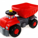 Camion basculant Carrier red