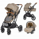 Carucior 3in1 ultracompact Coccolle Ravello Safari Beige
