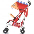 Carucior sport Chipolino Ergo red baby dragon
