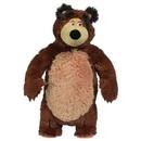 Jucarie de plus Simba Masha and the Bear, Bean Bag Bear 40 cm