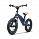 Lionelo - Bicicleta cu roti gonflabile, fara pedale, 12 , Bart, Albastru