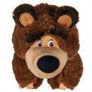 Papusa Simba Masha and the Bear 2 in 1 Masha 25 cm in costum de urs