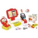 Jucarie Smoby Casa de marcat Mini Shop rosu cu accesorii
