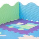 Covoras de joaca termic cu margini inaltate On the Way tip puzzle