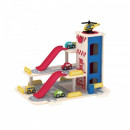 Garaj din lemn cu lift mobil Smily Play