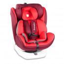 Lionelo - Scaun auto Bastiaan, rotativ 360 grade, cu Isofix, 0-36 kg, Red