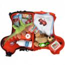 Masinuta de impins tip valiza Big Bobby Trolley red