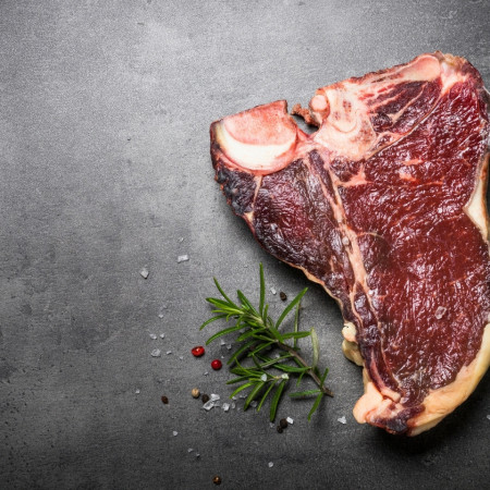 Sirloin Steak - Vrabioara cu os *Maturata* Artisan Gourmet * 100% Natural