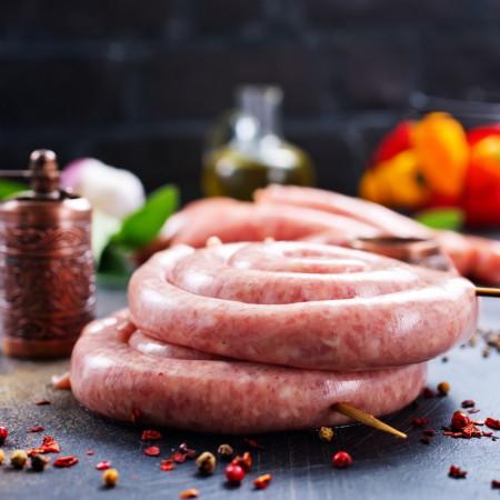 Carnati de porc, usor picanti *Vita & Porc* Fresh * Artisan Gourmet * Produs Natural 100%