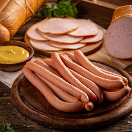 Crenvursti - porc & vita * Artisan Gourmet * Produs Natural 100%