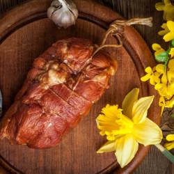 Ceafa de porc afumata * Pret/500g * Artisan Gourmet * 100% Natural