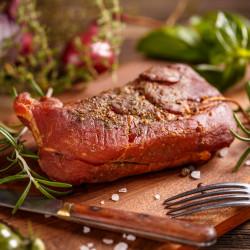 Pastrama de porc afumata * Artisan Gourmet * Pret/500g * 100% Naturala