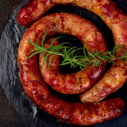 Carnati macelaresti afumati - vita & porc * Artisan Gourmet * Pret/500g * 100% Natural