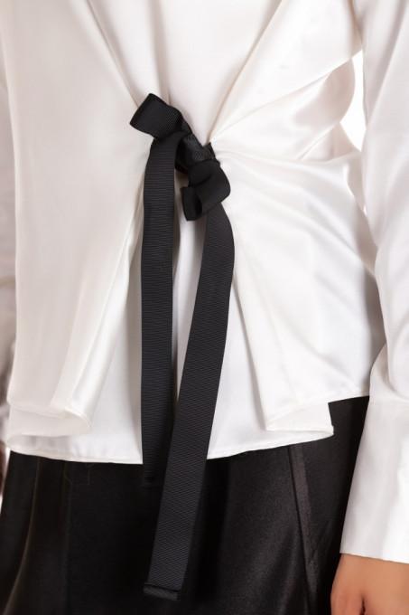 Bluza White Satine