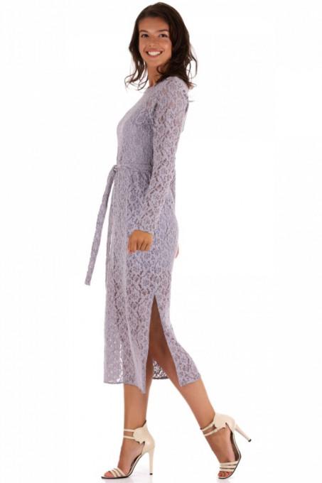 Rochie cu maneca lunga din dantela