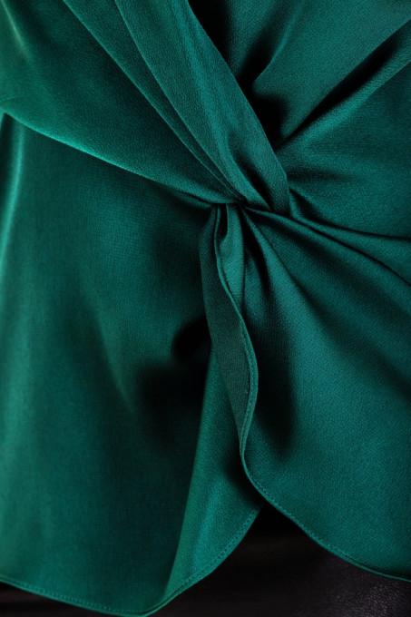 Bluza Dark Green Satin