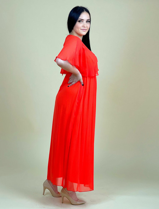 Rochie Mama Orange +