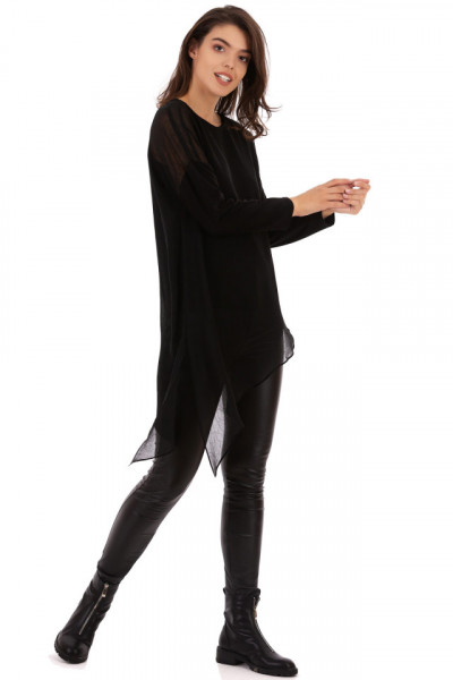 Bluza Asymmetric Black