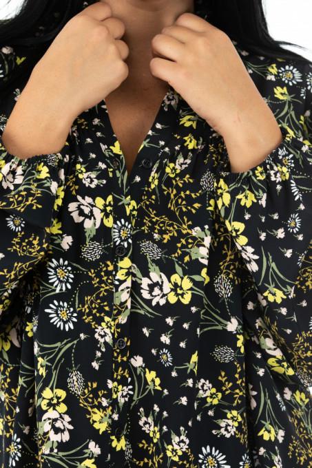 Bluza Madame Baronesse Yellow Flowers