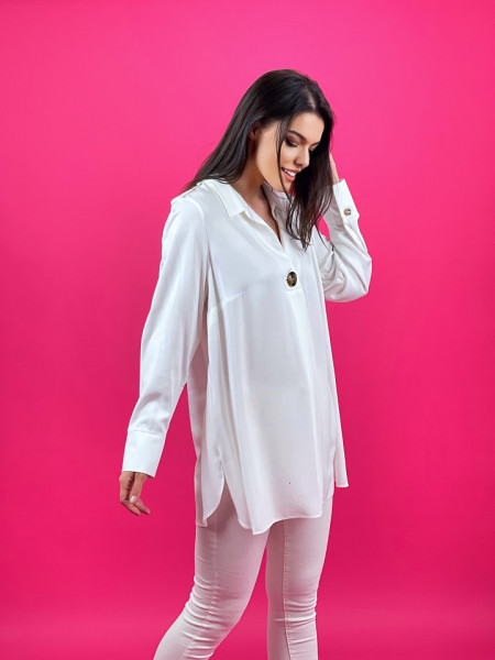 Camasa Oversized White