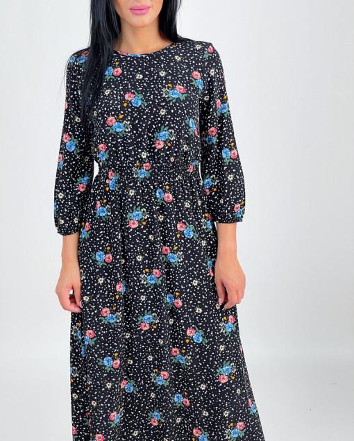 Rochie Shirring Stars&Flowers