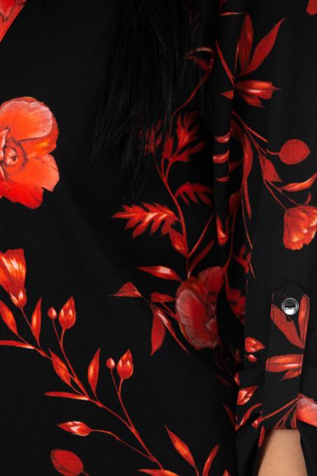 Camasa Orange Flowers
