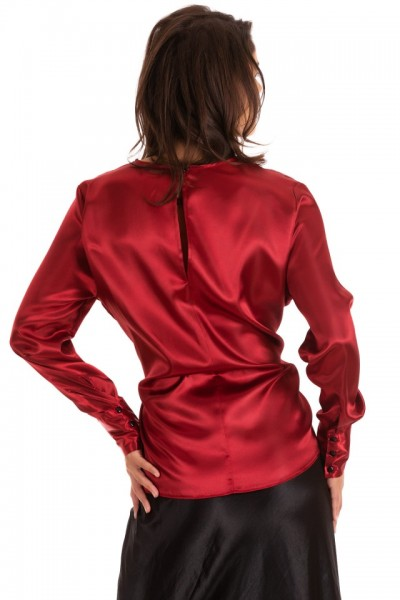 Bluza Red Satin