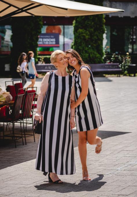 Rochie Long Stripes