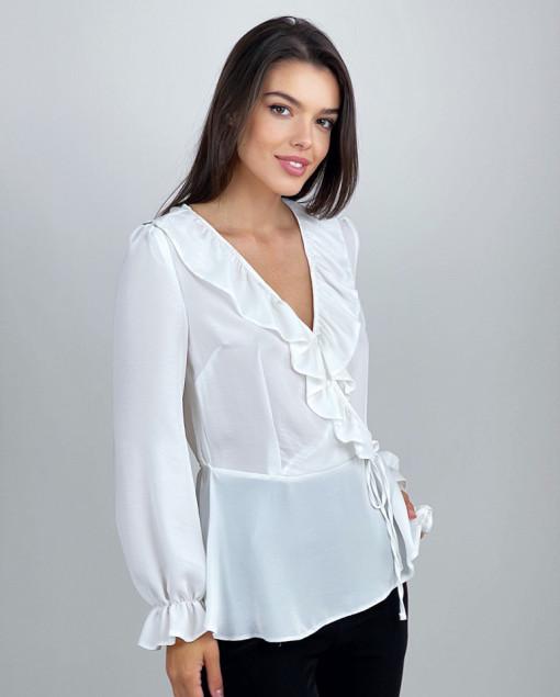 Bluza Frills Blanche