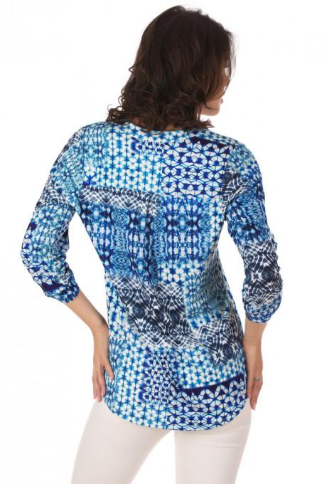 Bluza Jersey Print Blue