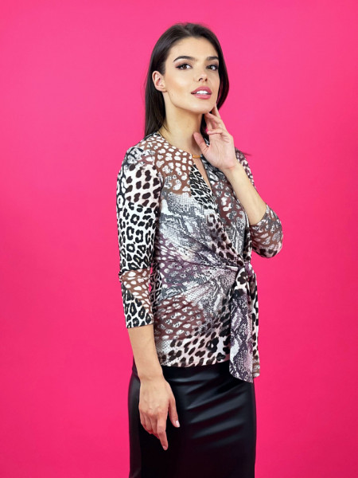 Bluza Leopard Knot