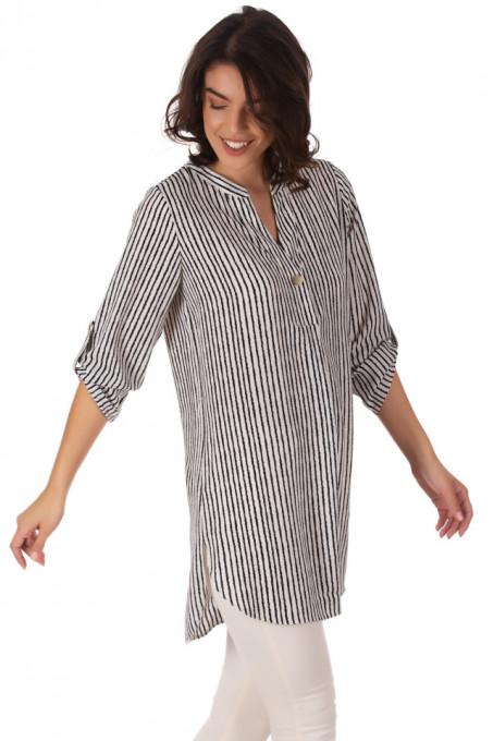 Camasa Over Stripes