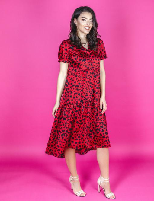 Rochie Spring Red