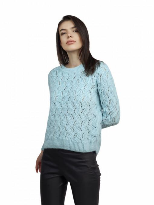 Pulover Turcoise Crochet