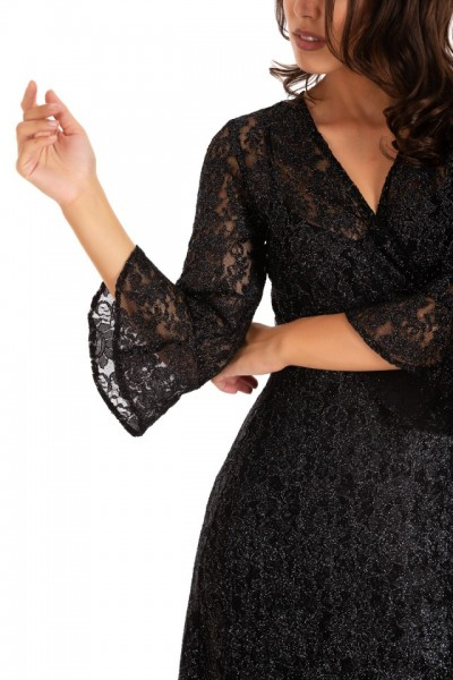 Rochie Diva Lace Black