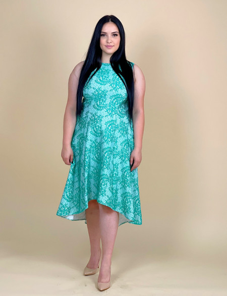 Rochie Green Lace +